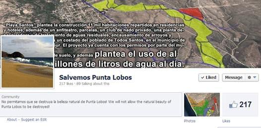 Ya le salieron opositores al Desarrollo Playa Santos