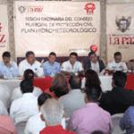 Consejo Municipal de Protección civil en La Paz