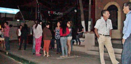 """""""En lo oscurito"""" la inspección judicial en las ex Micheladas"""