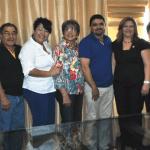 El Presidente Jorge Alberto Avilés Pérez recibió a las diputadas Adela González Moreno, y Guadalupe Olay.