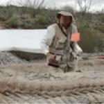 Dinosaurio en Coahuila