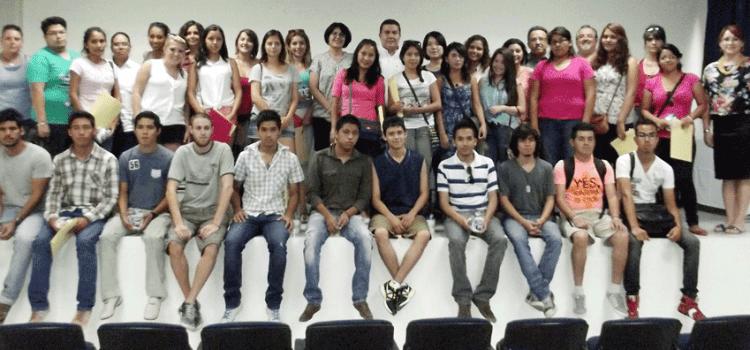 Dan bienvenida a estudiantes de intercambio