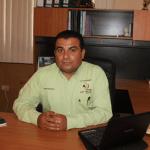 El director general del Oomsapas Mulegé, Ignacio Aguilar Valenzuela.