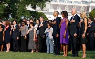 Rinden homenaje a víctimas del 9/11