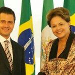 Enrique Peña Nieto y Dilma Rousseff