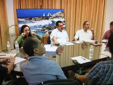 Se reúne Amigos de CSL con autoridades