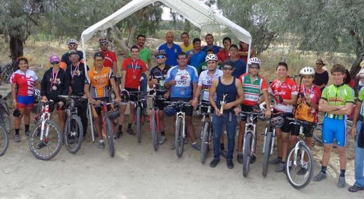 Competencia de ciclismo en la UABCS