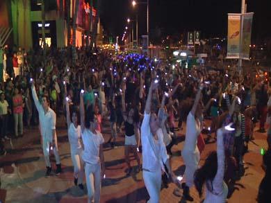 Primer Flashmob en Los Cabos
