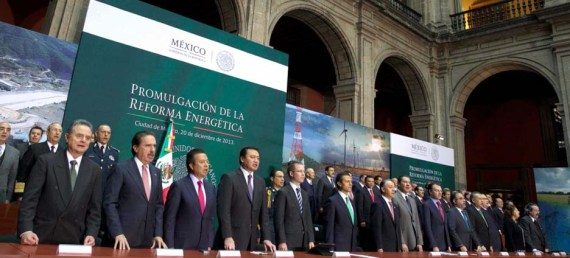 Promulgación de la Reforma Energetica