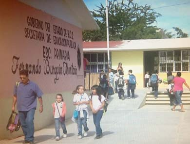 Roban en la escuela primaria Fernando Burgoin