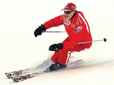 Schumacher está en coma