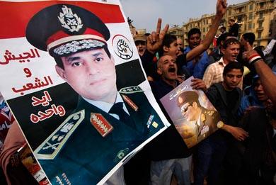 Jefe del Ejército Egipcio, 'Personaje del Año'