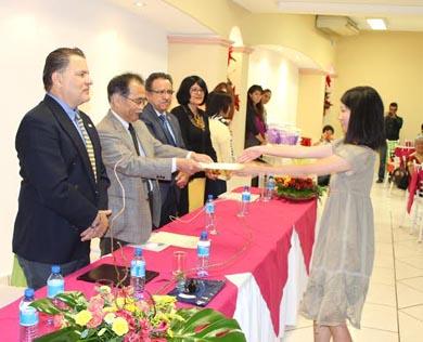 Concluye el Programa de Intercambio Internacional 2013