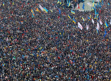200 mil ucranianos se levantan