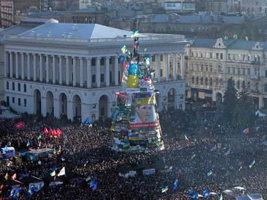 Crece la oposición ucraniana