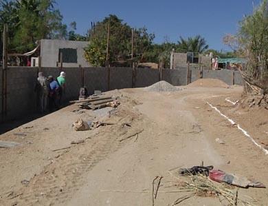 Al 60 % construcción de calle canal en San José Viejo