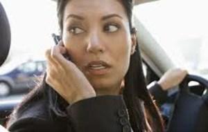 No hablar por celular al manejar