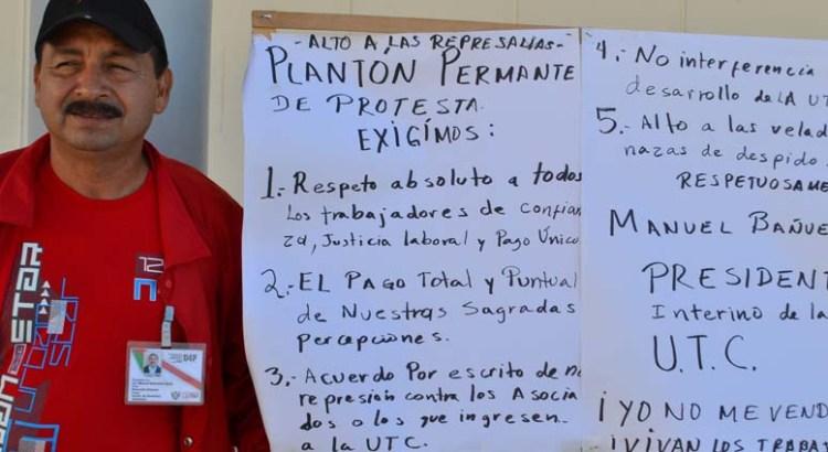 Alto a la represión contra Trabajadores de Confianza