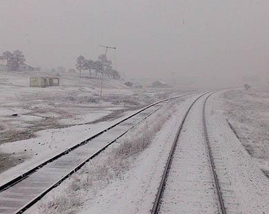 Presagian nevadas en BC, Sonora y Chihuahua