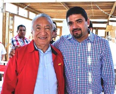 Agradece el Alcalde apoyo del senador Isaías González
