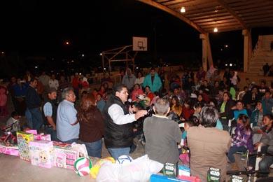 Llevan festejo de Reyes a Asunción