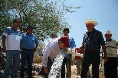 Solución al abasto de agua en zona rural