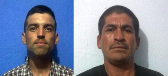 Jesús Alejandro Navarro Vallejo y Jorge Armenta y/o Leonardo López Valdez.