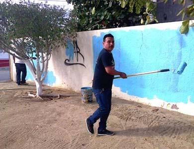 Vecinos de Guaymitas nomás pintaron en vano