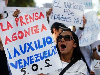 No hay papel en Venezuela… para los diarios