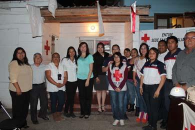 Conmemoran el 104 Aniversario de la Cruz Roja Nacional