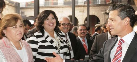 Alcaldesa y EPN
