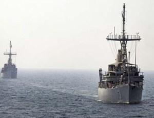 flota militar de Irán