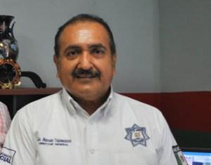 Marcelo Talamantes, director de Seguridad Pública y Tránsito Municipal.