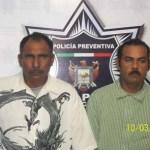 Miguel Ángel Ornelas Flores y Felipe Burquez Carballo.