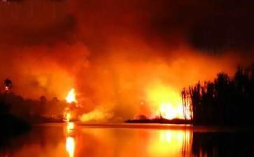 El 90% de los incendios son provocados