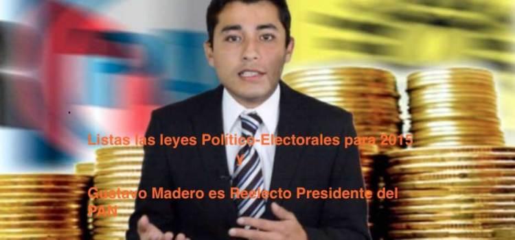 Se aprueban leyes Politico-electorales y Madero gana la elección en el PAN