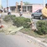 campaña de levantamiento de escombros y ramas