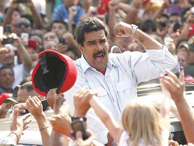 Amenaza Maduro a líderes chavistas