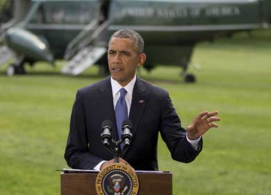 Considera Obama opciones en Irak