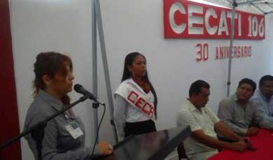 Celebra treinta años el CECATI 106