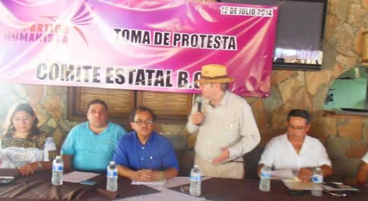 Toma protesta comité del Partido Humanista