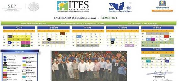 calendario ITES