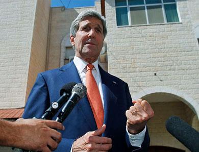 Llega Kerry a Israel