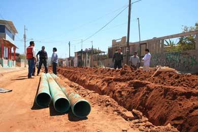 Más de 258 mil habitantes cuentan con agua potable