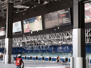 En evaluación los daños al Aeropuerto de SJC
