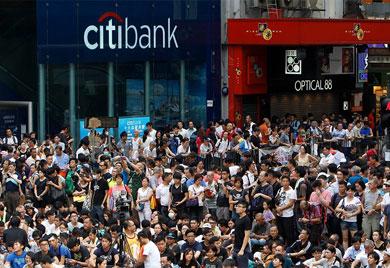 Crecen protestas contra China en Hong Kong