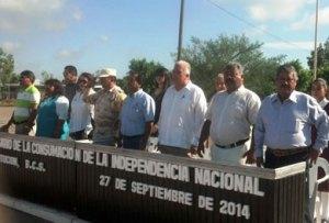acto cívico conmemorativo al 193 aniversario de la consumación de la Independencia de México