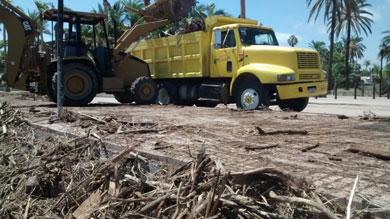 Informa Alcalde sobre los daños ocasionados por Odile