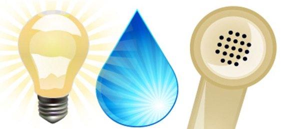 luz agua