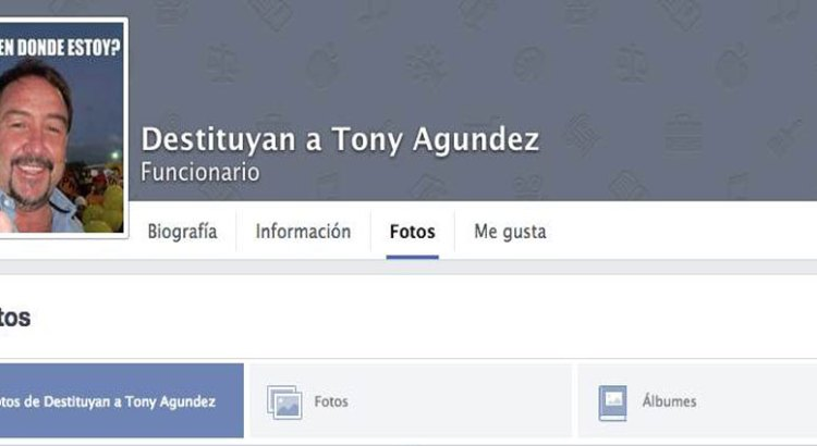 No preocupa a Tony Agúndez que pidan su renuncia en redes sociales